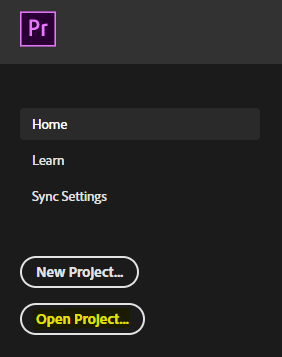 Open a SharePoint document from Adobe Premiere
