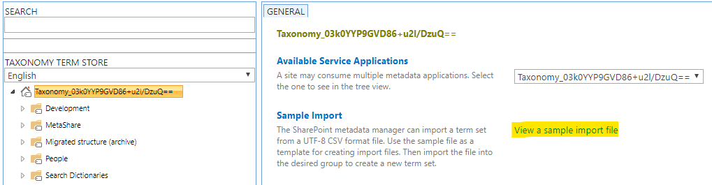 """Click on the link """"View a sample import file"""""""