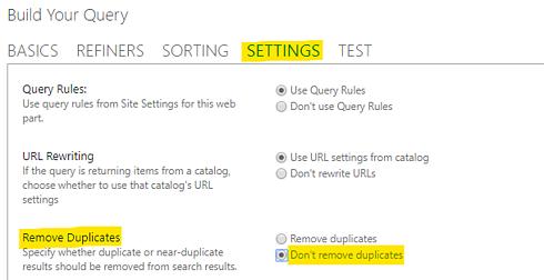 Don't remove duplicates
