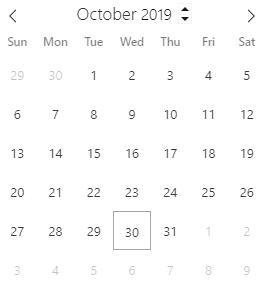 A date column