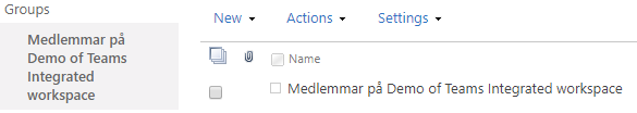 Changes are automatically reflected in the members group in the MetaShare workspace