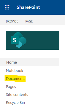 Open the document library