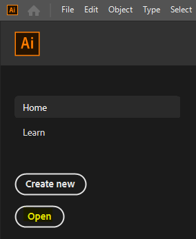 Open a SharePoint document from Adobe Illustrator