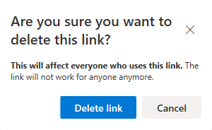 Are you sure you want to delete this link?